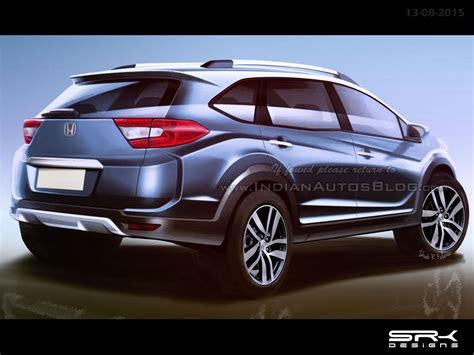 production spec honda br  crossover rear  rendering