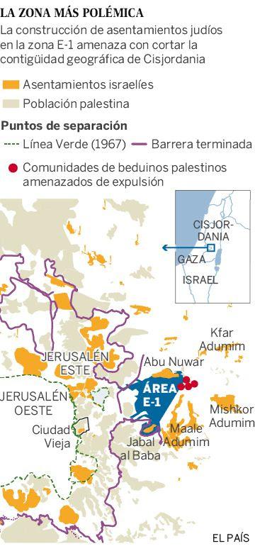 La expansión de las colonias en Jerusalén cerca a los beduinos