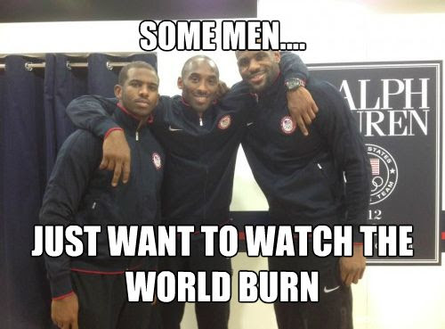 Chris Paul, Kobe Bryant and LeBron James are ready to wreak havoc in basketball during the 2012 Summer Olympic Games in London.