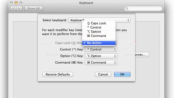 """معظم المستخدمين يعتمدون على زر """"شيفت"""" للقيام بهذه العملية وهو مايجعل هذا الزر دون أي فائدة."""