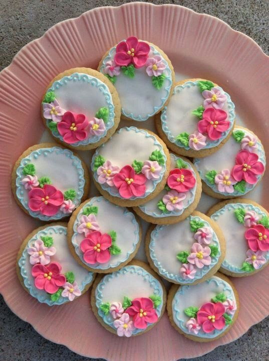 Tea - cookies - these are just lovely. Artists never cease to amaze me.