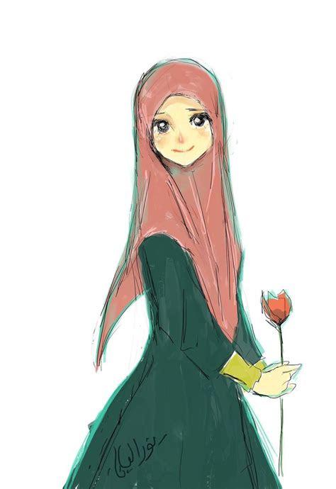 images  muslimah anime  pinterest muslim
