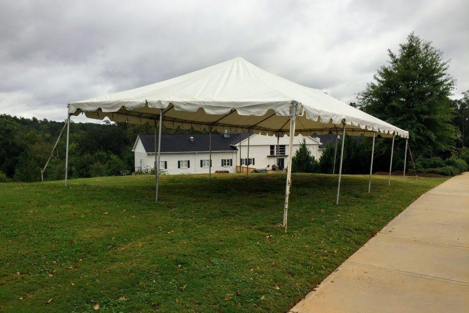 20 X 40 Frame Tent Barrons Barrons