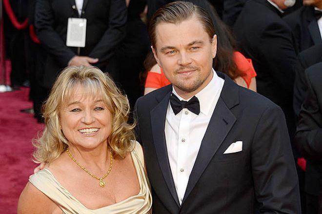 Леонардо ди Каприо с мамой