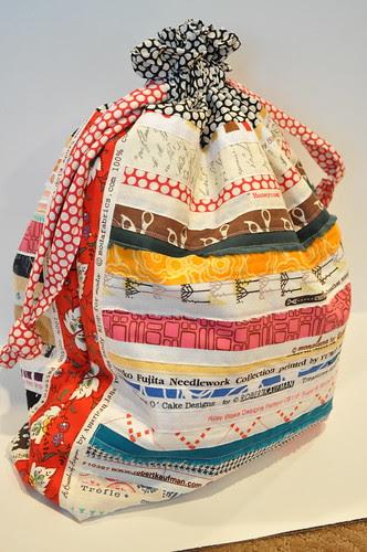 refashioned swag bag-after