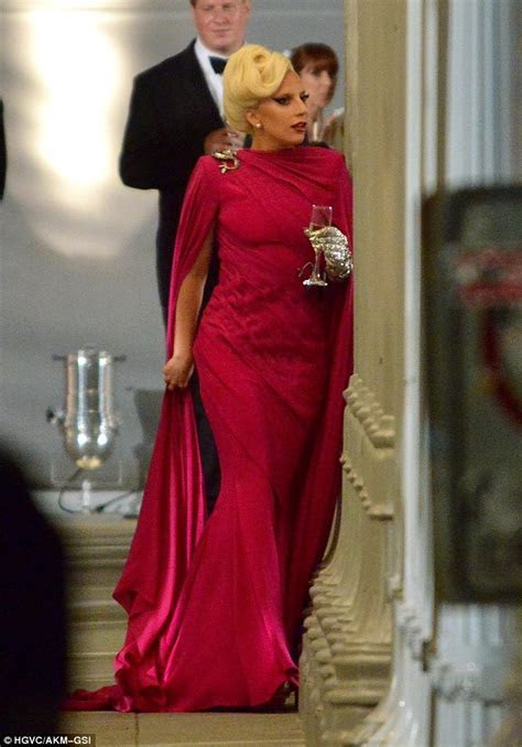 Lady Gaga exudes Hollywood glamour in American Horror