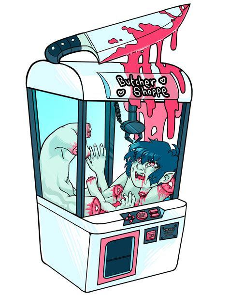dead gay white haired anime boy goretober