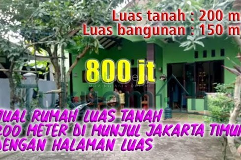 Jual Rumah Di Munjul Jakarta Timur - Berbagai Rumah
