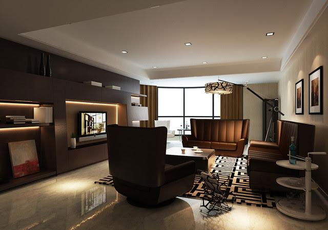 Limitless - 3D Living Room - modern - living room - other metro ...