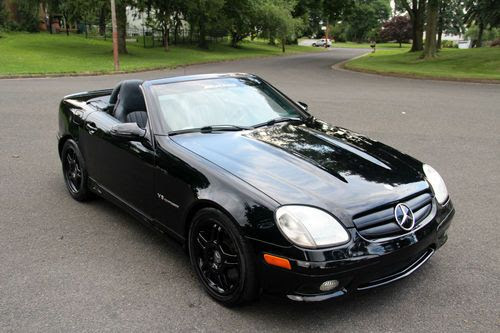 Find used slk230 slk320 R170 2002 Mercedes Benz SLK32 AMG ...