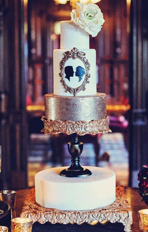 20  best ideas about Silhouette Wedding Cake on Pinterest