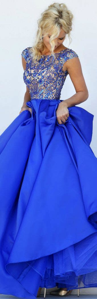 Best 25  Royal blue wedding dresses ideas on Pinterest