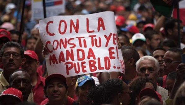 Resultado de imagen para asamblea constituyente de venezuela