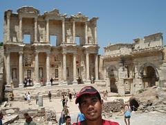 Library Of Celcus, Di Dlm Ephesus, Selcuk, Turkey