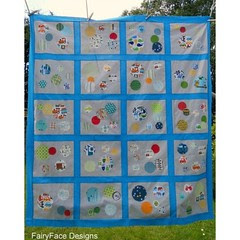 Finished quilt top for my little boy - I'm in love with this one and so is he!!!#quilt #handmade
