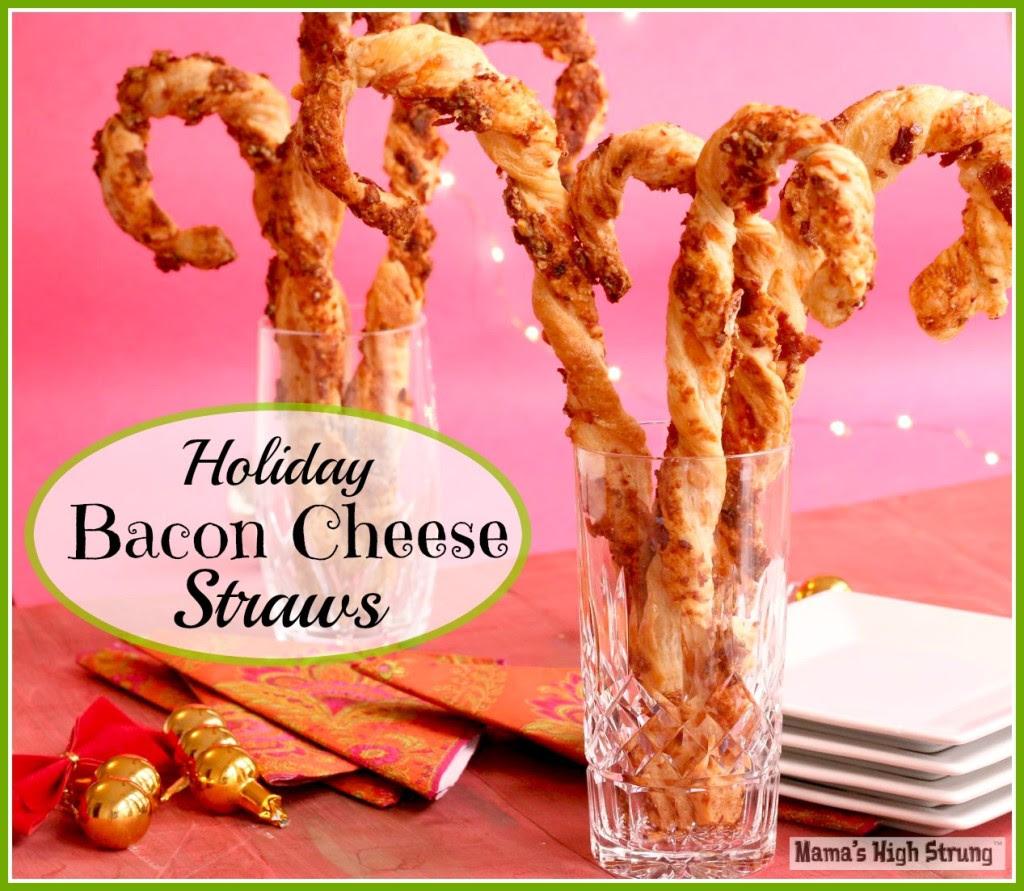 Holiday Bacon Cheese Straws Mama's High Strung