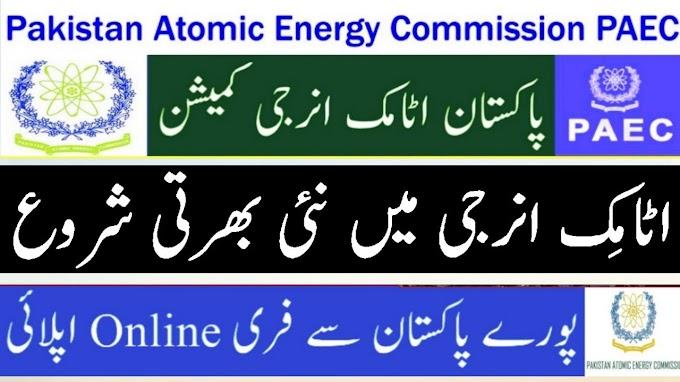 Atomic Energy PAEC Jobs 2021-https://202.83.172.179/home