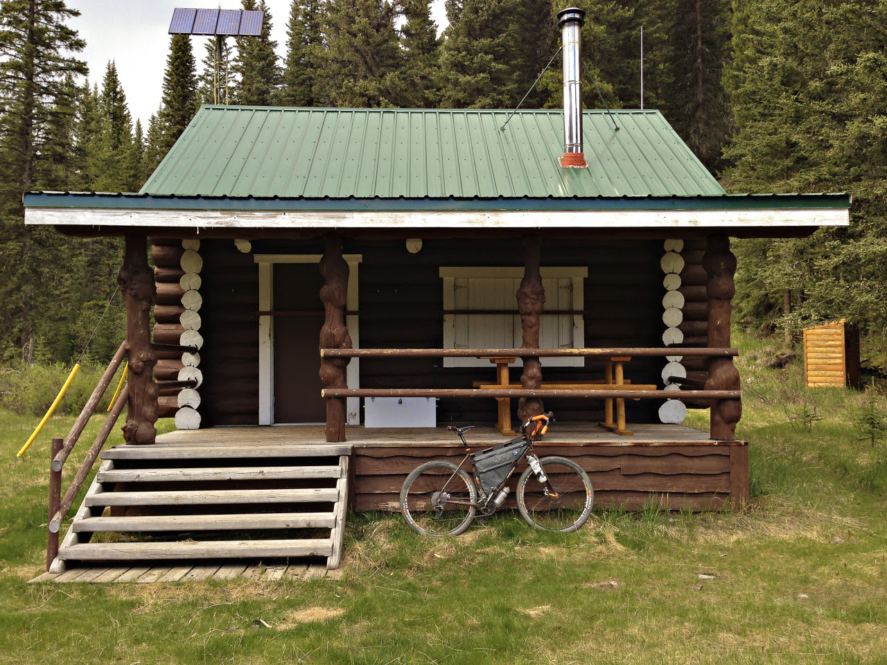 Stoney Creek Warden Cabin in Banff National Park Kevin Tweed / tweedtelegraph.com