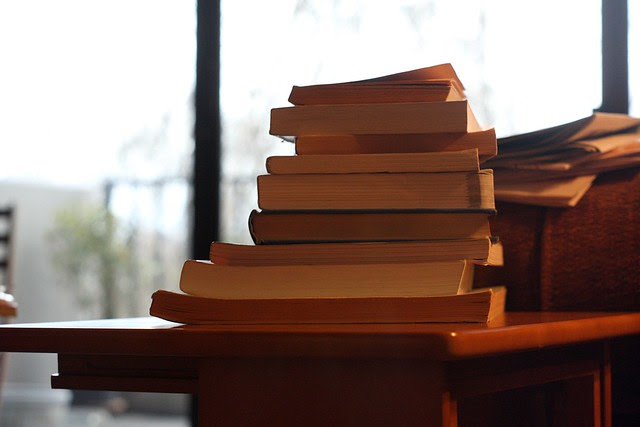 the to-read stack