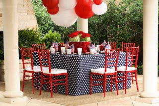 Kimberly Schlegel Whitman: Fourth of July Tablescape!