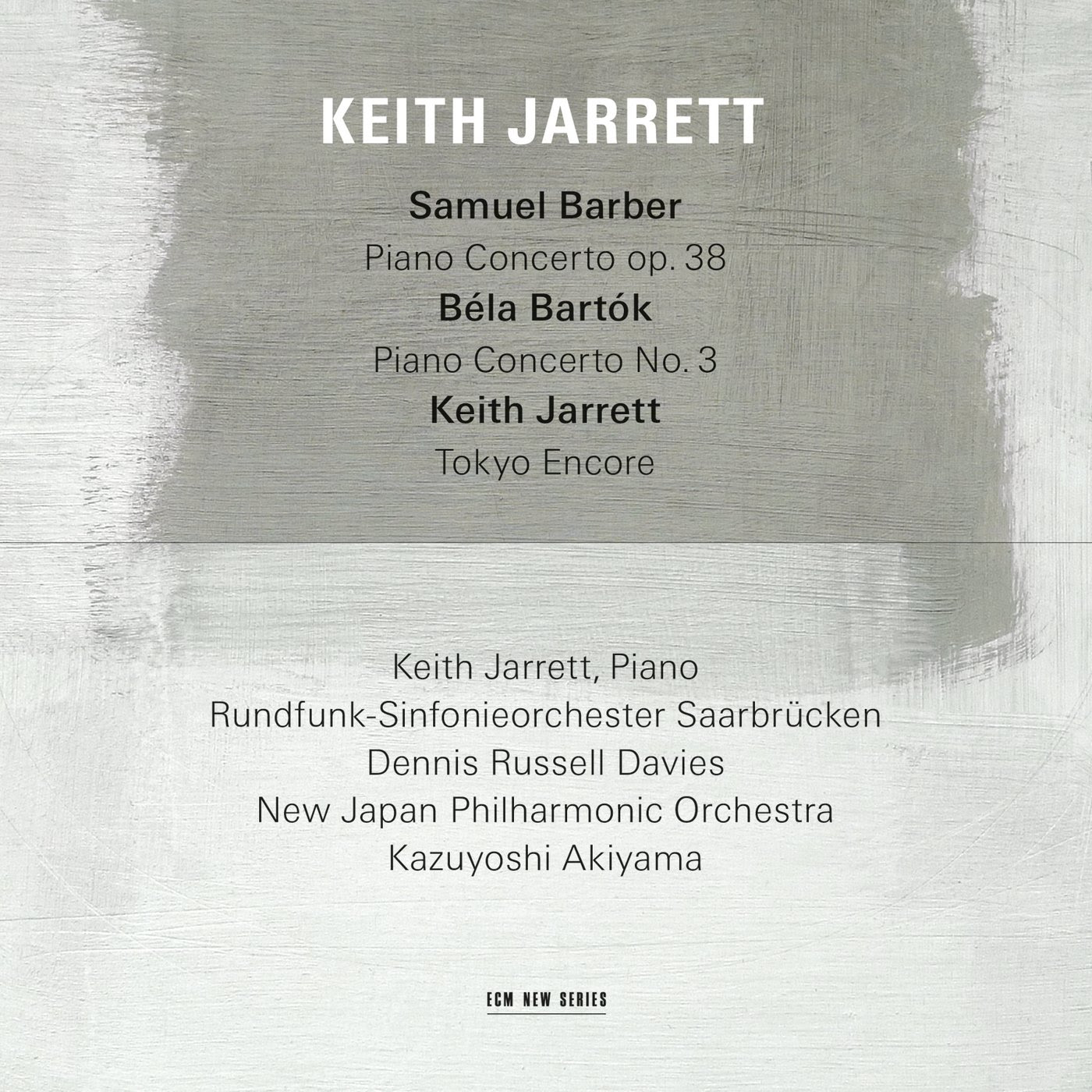 Keith Jarrett - Barber /Bartok cover