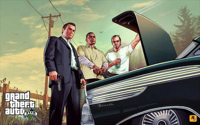 """""""The Trunk"""" (O porta-mala - em tradução livre) - imagem divulgada pela Rockstar"""