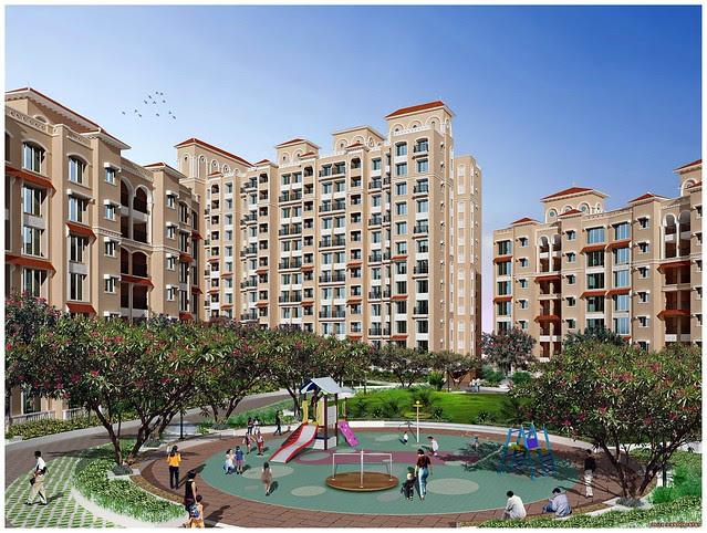 DSK Meghmalhar Phase 2, 1 BHK & 2 BHK Flats at DSK Vishwa, Dhayari Gram Panchayat, off Sinhagad Road, Pune 411 041 - 3