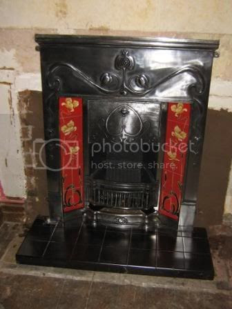 Photo by Rullsenberg: Valentine fireplace