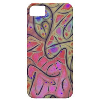 Line Play 17 Vivid Cheerful Abstract iPhone 5 Covers