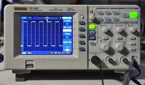 Rigol DS1052E Oscilloscope