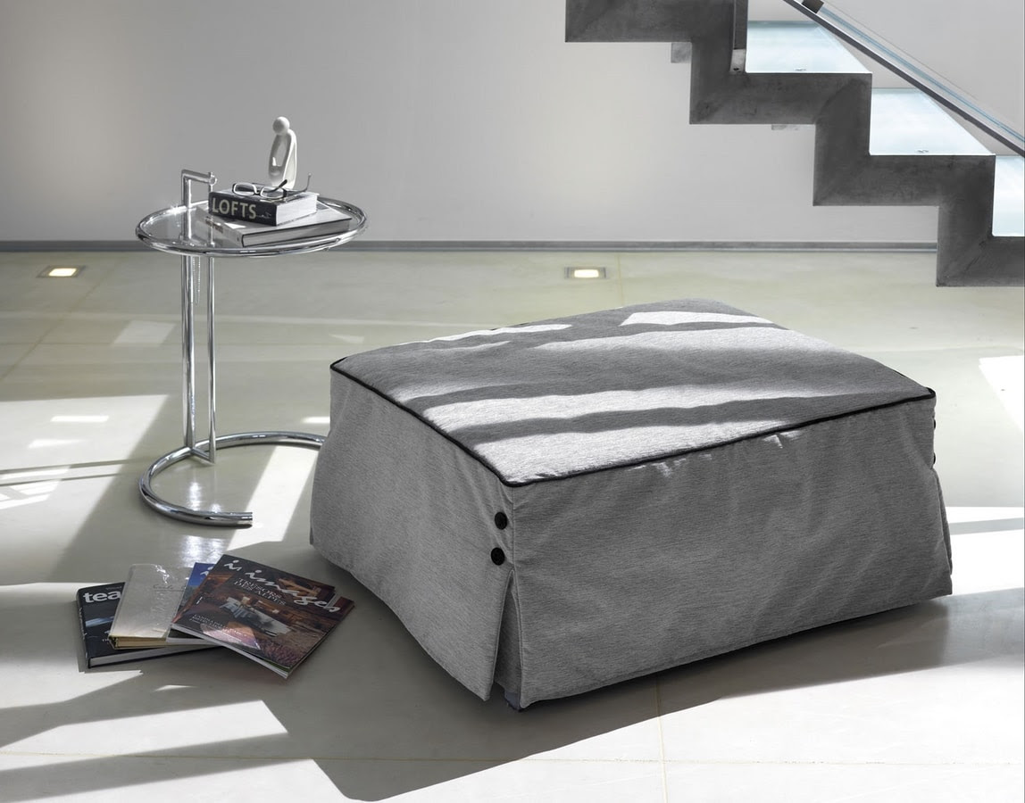 Bill pouf by Milano Bedding - Versatile seat, Low seat, Footrest ...