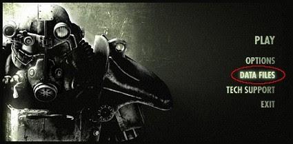 list of Fallout launcher data files