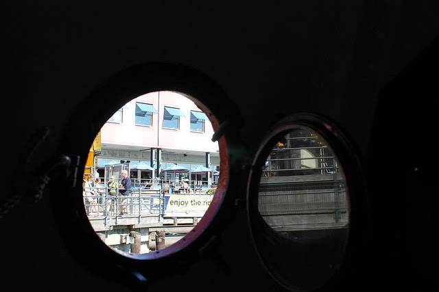 View from the Porthole: South Street Seaport