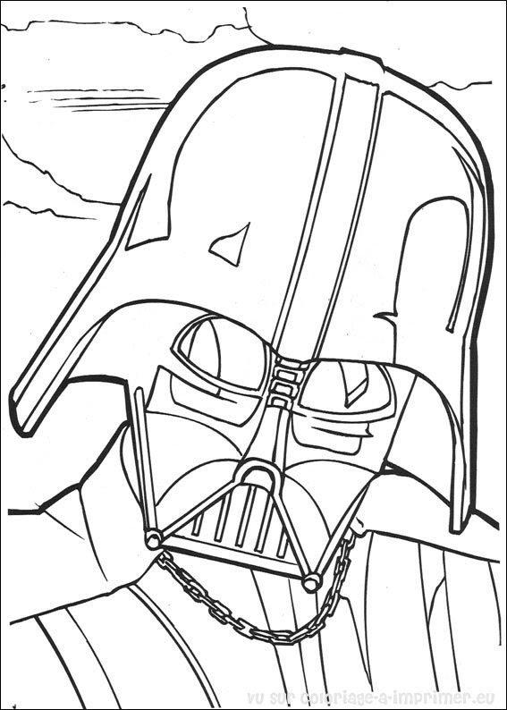 Coloriage à Imprimer Coloriage Star Wars 008