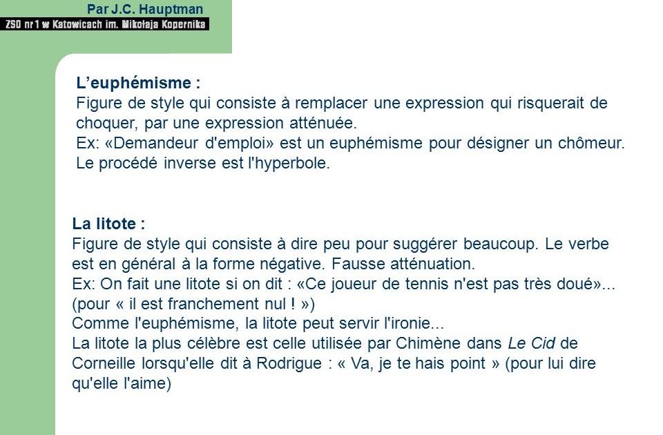 Exemple D énumération Figure De Style - Le Meilleur Exemple