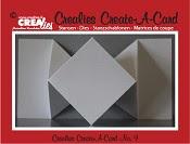 Crealies Create A Card stans no. 9 / Crealies Create A Card die no. 9