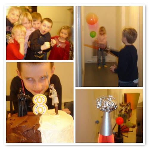 Gavin's 8th birthday
