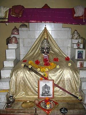 Shivaji temple on Sindhudurg fort