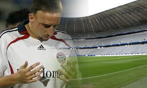 Bayern Munich Bina Masjid Kerana Franck Ribery, Mudahkan Pemain Dan Penyokong Untuk Solat