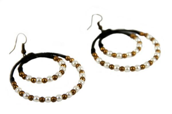 Boucles d'oreilles perles Chics