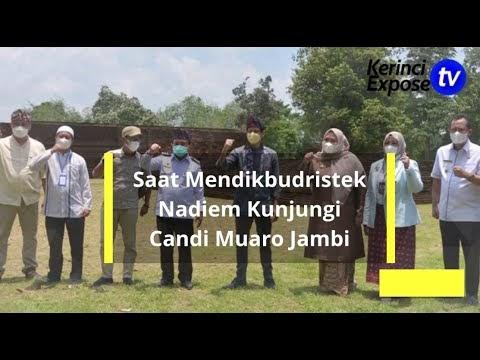 Mendikbudristek Nadiem Kunjungi Candi Muaro Jambi