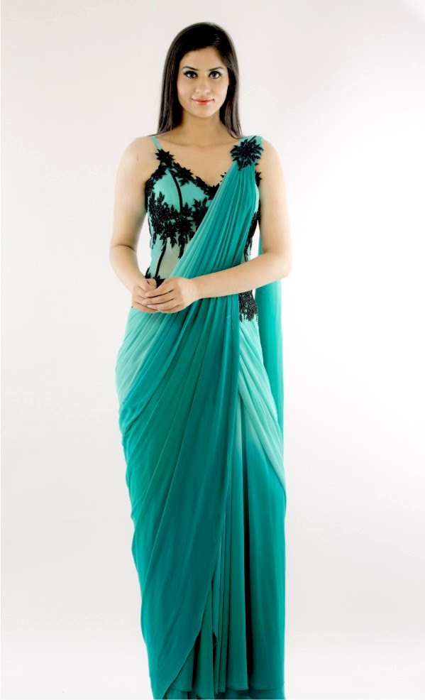 indo western party dresses for women  ethnic couture