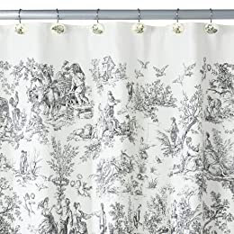 GREEN TOILE SHOWER CURTAINS