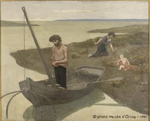 Le pauvre pêcheur, Pierre Puvis de Chavannes, 1881