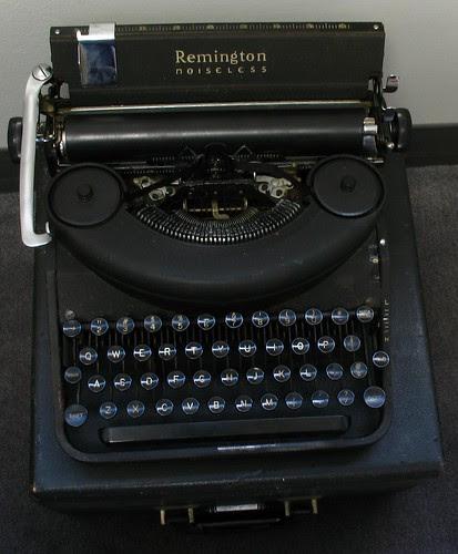 "Remington Noiseless Model Seven, c. 1946 aka ""Lucky"""