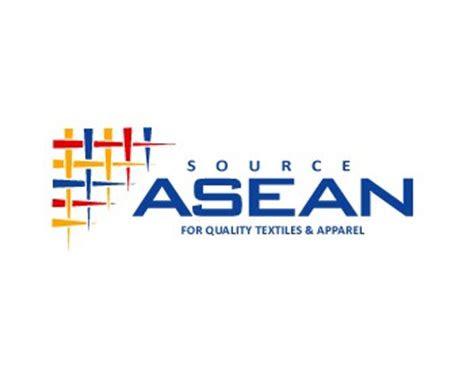 asean federation  textile industries aftex logo design