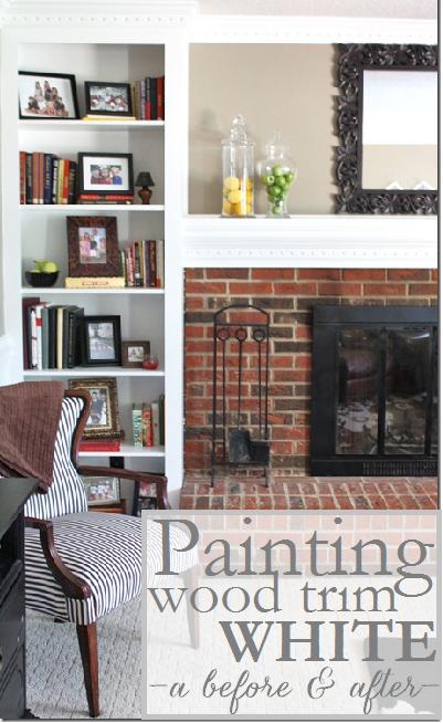 Painting Wood Trim White