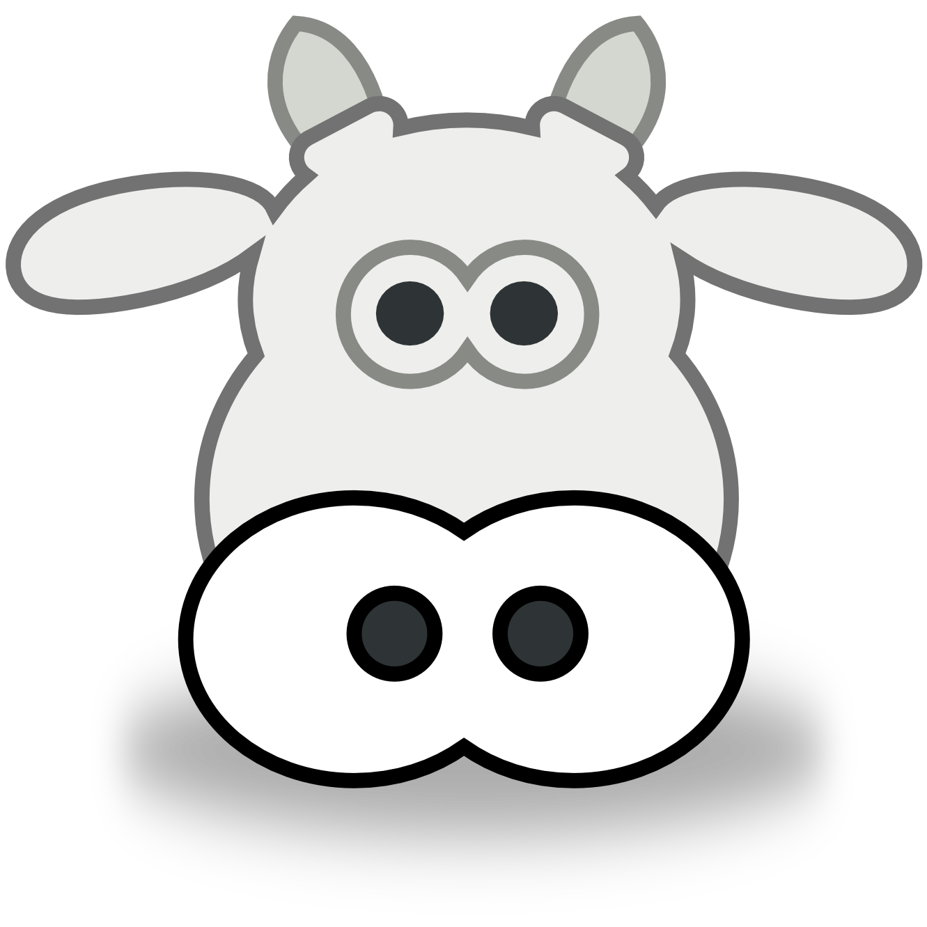 Free Cow Face Cartoon Download Free Clip Art Free Clip Art On