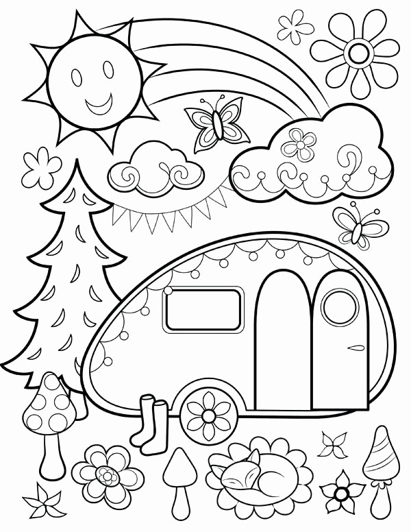 Simple Coloring Pages For 2 Year Olds at GetColorings.com ...