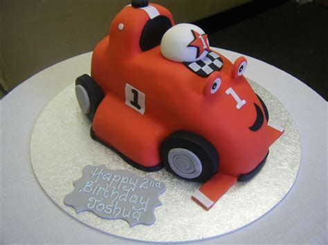 Rory the Racing Car   Cakes for Celebrations